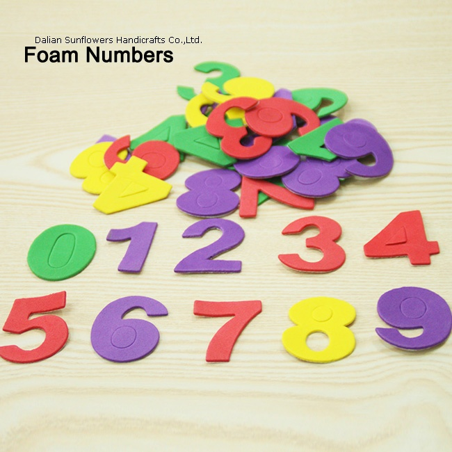 craft foam numbers